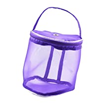 LissomPlume Yarn Storage Bag Knitting Thread Holder Case Yarn Drum Basket Box