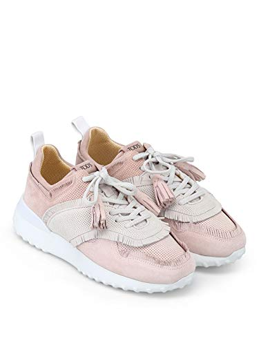 Donna Rosa Tod's Camoscio Xxw80a0w600k101y36 Sneakers awnAWRq0