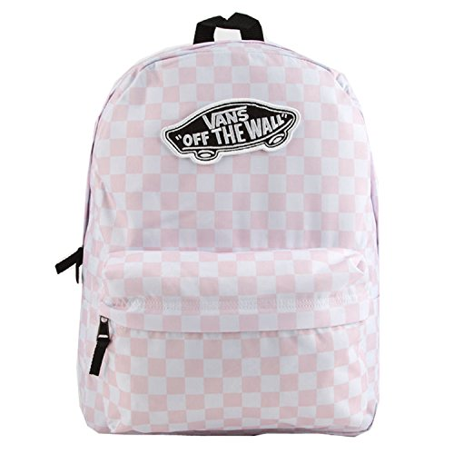 Vans Realm Backpack (Chalk Pink Checkerboard)