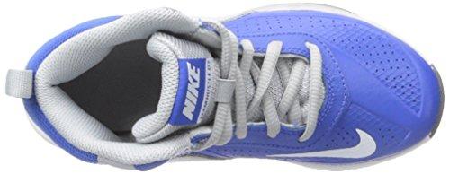 Nike Team Hustle D 7 (PS) - Zapatillas de Baloncesto Niños Azul / Blanco / Gris / Negro (Game Royal / White-Wlf Grey-Blck)