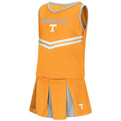 Colosseum NCAA Toddler-Girls Team Cheer Set-Tennessee Vols-5T