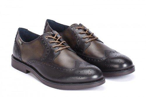 Pikolinos , Chaussures de ville à lacets pour homme noir noir