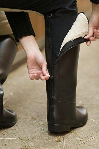 USG Winter PVC Stiefel HAPPY BOOTS, schwarz, 41