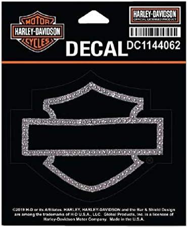 Harley Davidson Strass Aufkleber Blanko Größe Sm 10 2 X 9 9 Cm Dc1144062 Harley Davidson Auto