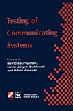 Testing of Communicating Systems : IFIP TC6 9th International Workshop on Testing of Communicating Systems Darmstadt, Germany 9-11 September 1996, , 1475766971