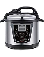 Electric pressure Cooker, Edison,steel, 8L
