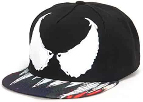 Xuzirui Venom Spider Hip Hop Hats Cool Flat Eaves Baseball Hoods Cotton Cap  Snapback Hat bae1b4ca7395