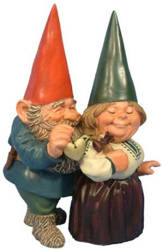 Woodland Garden Gnome - Arnold and Sarah Get Married