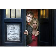 Dr. Who David Tennant Billie Piper Tardis Poster 11x17 Master Print