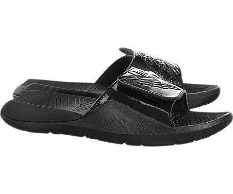 Nike Jordan Hydro 7 VII Men's Slide Sandals (8 M US, Black/Black)