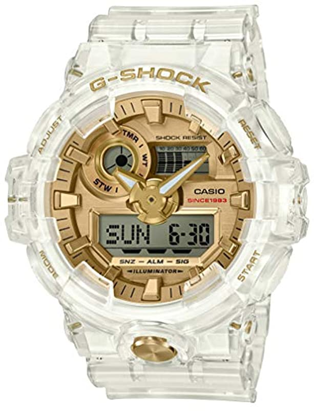 CASIO G-SHOCK 시계 GLACIER GOLD GA-735E-7AJR