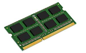 Kingston Technology System Specific Memory M51264J90 módulo de - Memoria (4 GB, DDR3, 1333 MHz, 204-pin SODIMM, 1333 MHz, No-ECC)