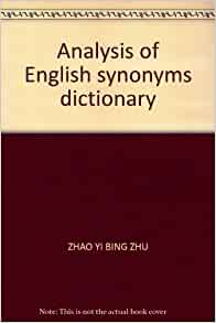 dictionary of english synonyms author