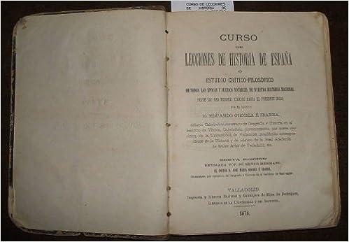 Historia General de España: Amazon.es: Padre Juan de. Palacio, Mariana: Libros