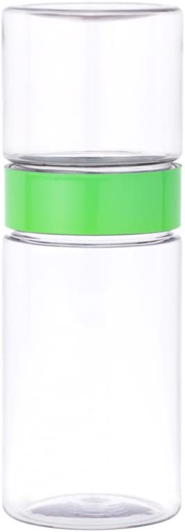 W&P Matcha Beverage Green 16 Ounce | Multi-Functional Shaker and Serving Glass