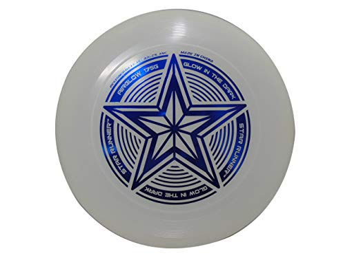 INGEAR Start Runner Glow in The Dark Ultimate Frisbee Disc 175 Grams Disc Golf Disc