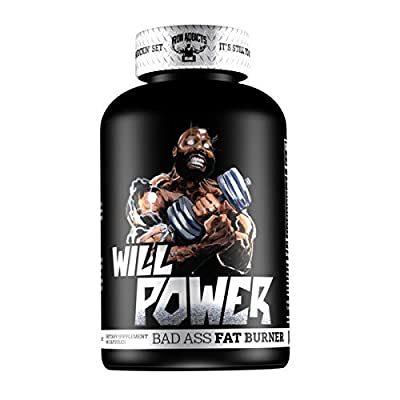 Will Power | Iron Addicts | Thermogenic Fat Burner | Formulated By CT Fletcher - 60 Capsules
