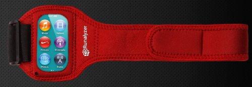 The Runalyzer Armband for iPod Nano 7G - Ipod Red Armband