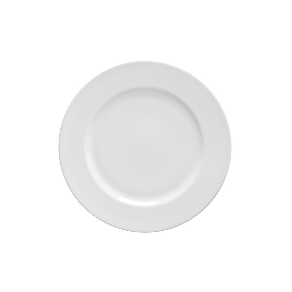 10 Strawberry Street Royal White 7'' Bread & Butter Plate, Set of 6, White