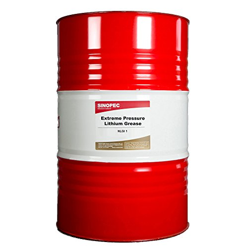 Sinopec EP1 Extreme Pressure Lithium Grease Drum, 400 lb. by Sinopec