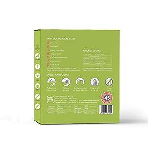 Sirona Sanitary Disposal Bags - Bags for Discreet Disposal of Tampons, Condoms, Diaper, Sanitary Pads, Panty Liner