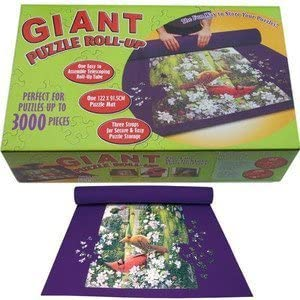 Large Puzzle roll up jigsaw mat for up to 3000pcs Easy storage