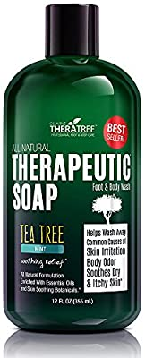 Cheapest Oleavine Antifungal Soap with Tea Tree and Neem for Body, 12 oz by Oleavine - Free Shipping Available