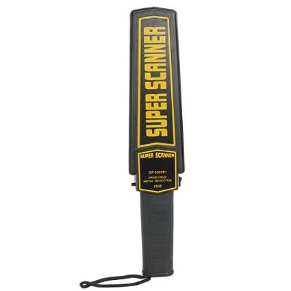 Alarma Detector de Seguridad Handheld metal escáner y Vibraciones GP-3003B1: Amazon.es: Electrónica