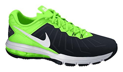 Nike Air Max Full Ride TR, Zapatillas De Deporte para Hombre Negro / Blanco / Lima / Verde (Black / White-Vltg Green-Anthrct)