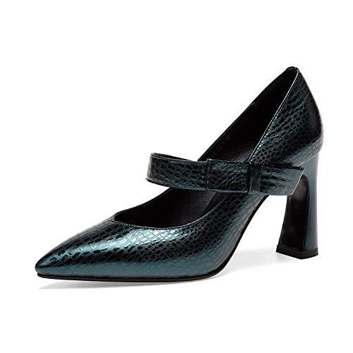 Green Femme Bout Bottes CXQ Chaussures pour à Pointu p7zCHx