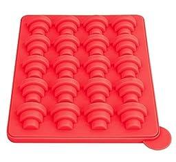 Nonstick Silicone Cake Pops / Baking Molds - Cake Pops Bakeware Set (2 Pcs) Red