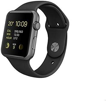 Apple Watch Sport - Smartwatch (42 mm, Bluetooth 4.0, Ion-X, WiFi ...