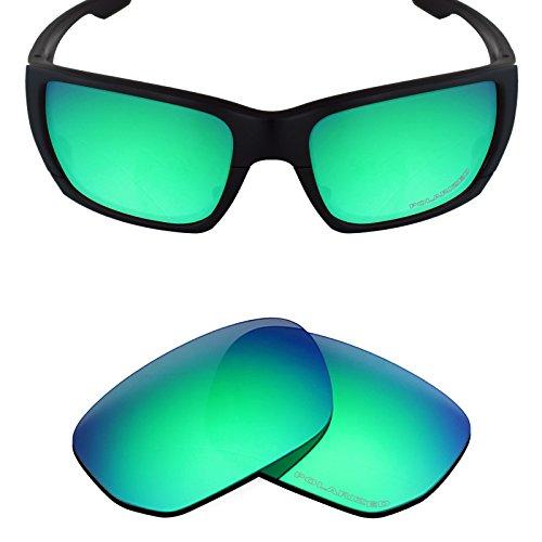 Mryok+ Polarized Replacement Lenses for Oakley Style Switch - Emerald - Replacement Polarized Style Switch Lenses Oakley