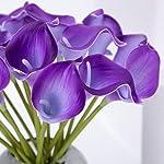 Leagel-Calla-Lily-Bridal-Wedding-Bouquet-Head-Lataex-Real-Touch-Flower-Bouquets-20-Purple