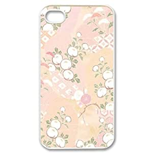 CUI FLOWER CHA3071564 Phone Back Case Customized Art Print Design Hard Shell Protection Iphone 4,4S by icecream design