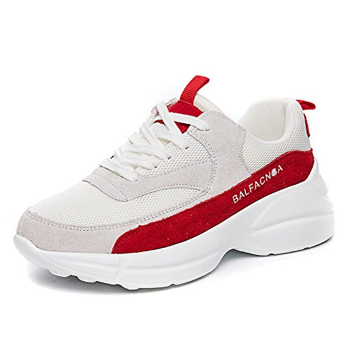 Red De Para amp;G Zapatos Corrientes Deportivos Mujer NGRDX Mujeres red Mujeres Con Zapatos Zapatos Zapatos Para Zapatos White 47cgFq6