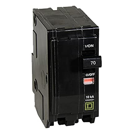 Square D By Schneider Electric QO270CP QO 70 Amp Two Pole Circuit