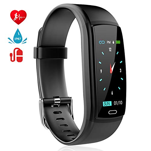 Fitness Tracker, Activity Tracker with Pedometer Blood Pressure Heart Rate...