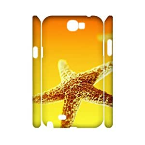 case Of Starfish Customized Hard Case For Samsung Galaxy Note 2 N7100
