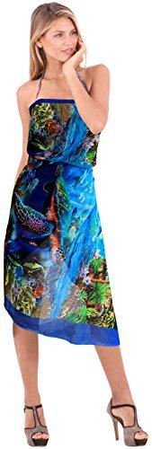 La Leela progettista Bikini Swimsuit sarong beachwear femminile coprire costumi da bagno involucro arcobaleno