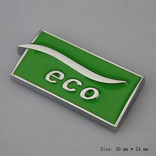 E837 ECO Emblem Sign Badge car Mobile Sticker Car Sticker Metal