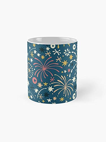 Fireworks Mug - There Are Fireworks Everywhere Color Variation 2 Mug - 11oz Mug - Best gift for family friends