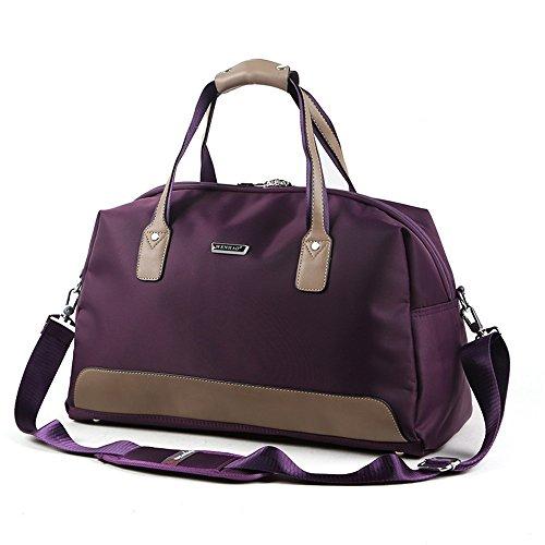 hand - tasche, meine große, wasserdichte tasche, men s business travel umhängetasche,brown Violet foncé