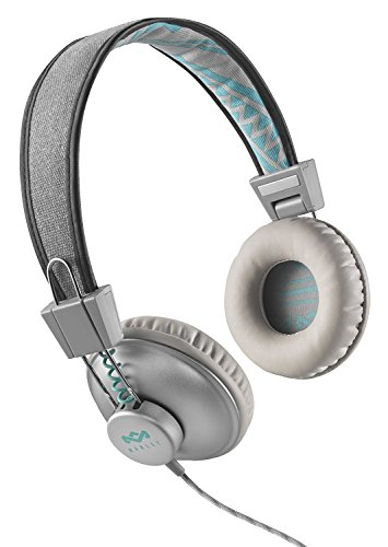 House of Marley EM-JH011-SM Positive Vibration Mist On-Ear Headphones