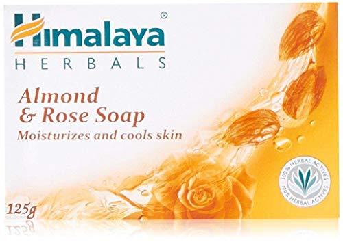 Himalaya Products/Himalaya India -Himalaya Healthcare Herbals Himalaya Ayurvedic Almond And Rose Soap, 125g (Pack Of 6)