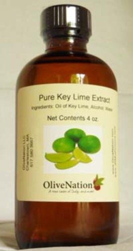 OliveNation Pure Key Lime Extract 4 oz. (Best Key Lime Cake Recipe)