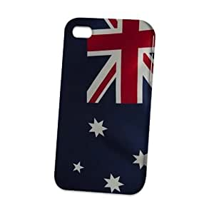 Case Fun Case For Iphone 5C Cover CaVogue Versi3D Full WrFlag of Australia Style 2 (World Cup)