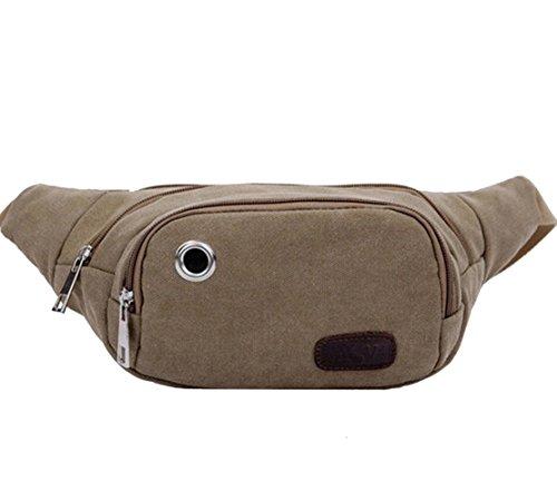 Chest Shoulder Bag Canvas Fanny Sports Female Bag Messenger Male tp8qOB