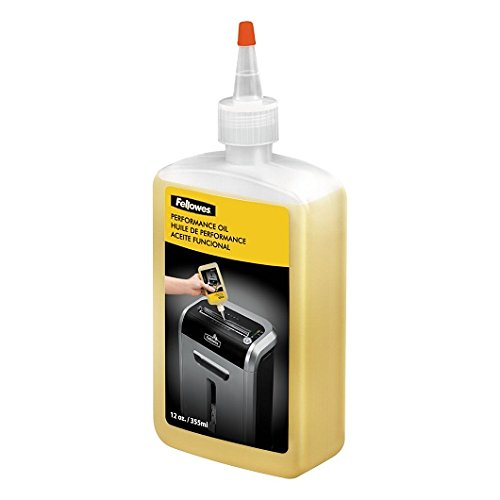 Fellowes : Shredder Oil, 12 oz. Bottle with Extension Nozzle -:- Sold as 2 Packs of - 1 - / - Total of 2 Each