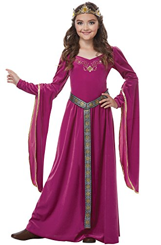 [Medieval Berry Princess Kids Costume] (Childrens Medieval Costumes Renaissance)